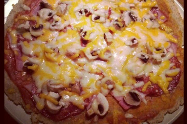 Spelt pizza