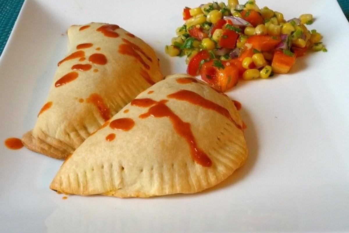 Empanadas með nautahakki